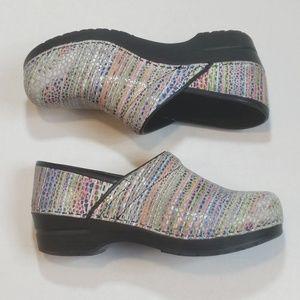 Shoes - Sanita Slip on Multi-Color Distressed size 39